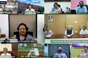Iconic 'Mile Sur Mera Tumhara' has fresh version prepared and sung by employees and officers of Indian Railways