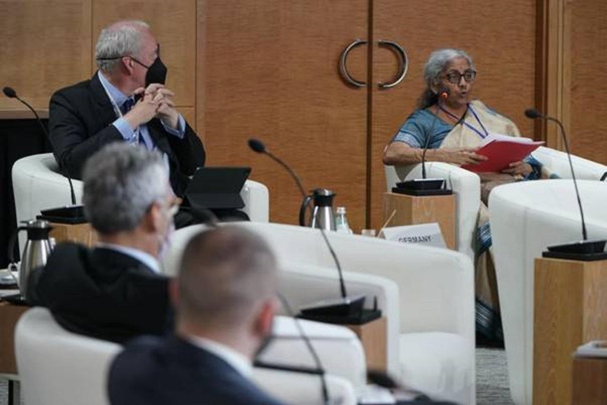 Nirmala Sitharaman, FMCBG Meeting