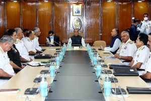 Rajnath declares India's commitment to rule-based freedom of navigation