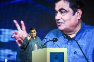 Nitin Gadkari lays foundation of National Highway projects worth about Rs 1678 crore