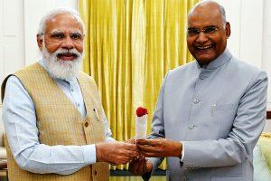 PM greets President Kovind on his 76th birthday