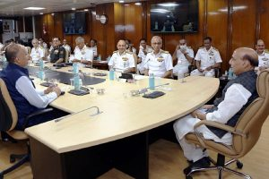 Naval Commanders discuss maritime security and other strategic issues