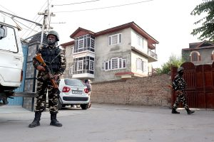 NIA raids 16 locations in Kashmir, 570 detained