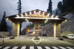 Atal Tunnel Rohtang becomes huge attraction among tourists