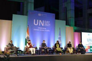 UN celebrates climate action in India