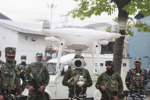 Drones, motorboats of security forces scanning Srinagar on eve of Amit Shah's visit