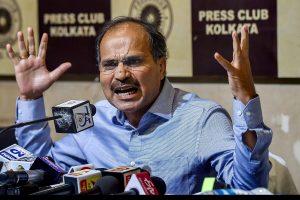 Adhir slams Mamata for claiming to head anti-Modi alliance