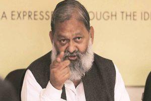Farmers agitation getting violent: Haryana Minister Anil Vij