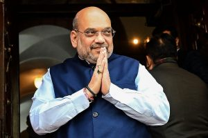 Amit Shah meets power and coal ministers, reviews situation