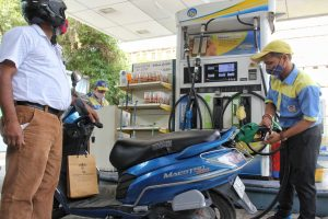 Fuel prices rise sharply as global oil climb continues
