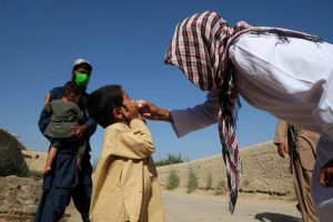 Unicef announces 1st polio vax drive in Af since Taliban takeover