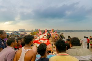 Bijoya: A sad send-off and hope for the next year
