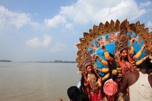 Authorities gear up for Dashami immersion; steps taken to prevent covid, pollution