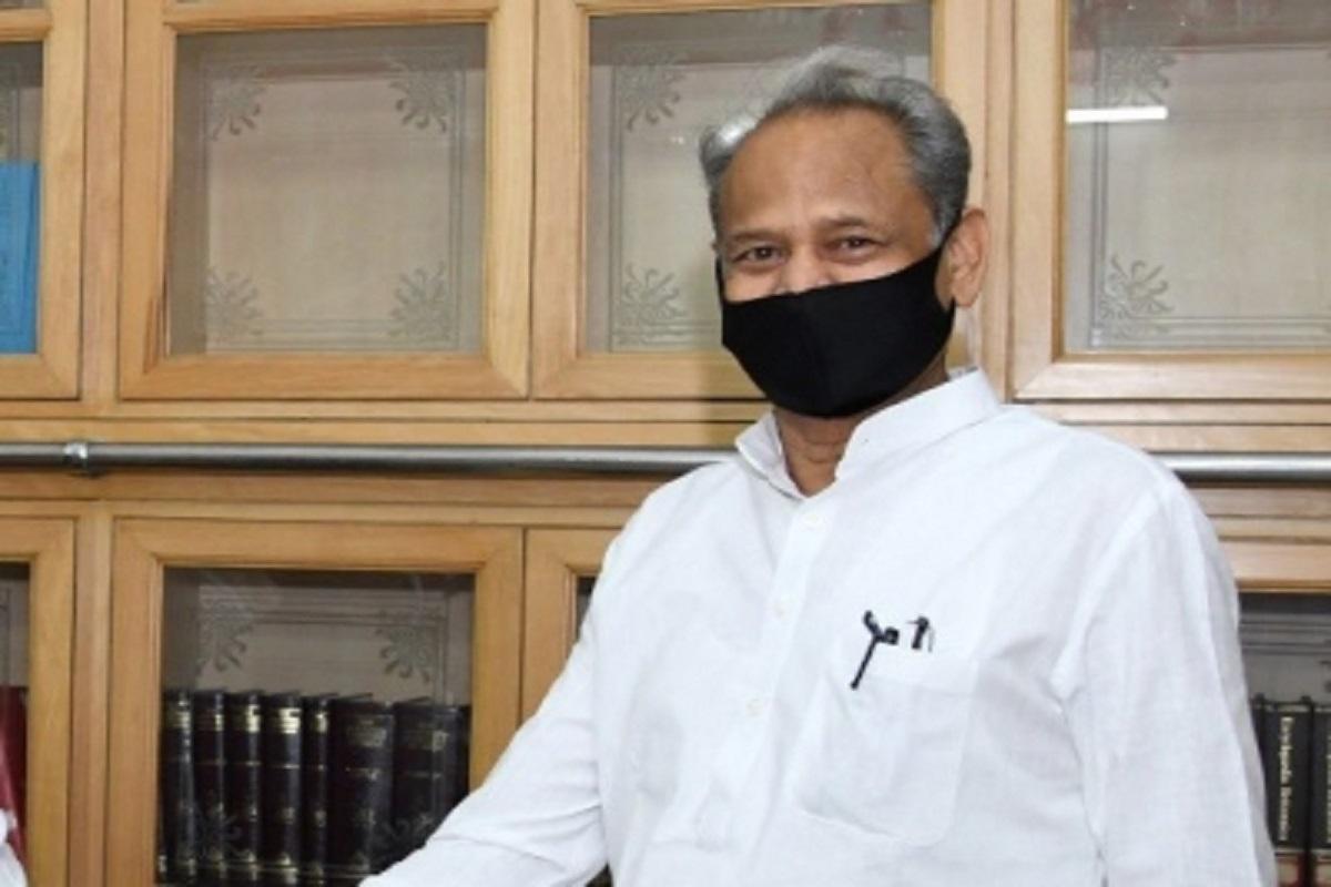Rajasthan Chief Minister, Ashok Gehlot