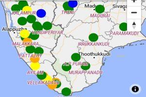 Flood warning issued in Kerala, K'taka and TN