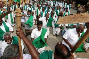 Farmers in TN's Thanjavur protest against Lakhmipur Kheri violence