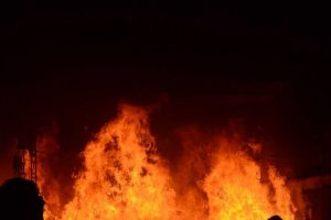 Fire breaks out in Bengal secretariat Nabanna