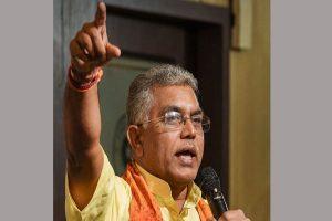 Dilip Ghosh slams Mamata for keeping mum on B'desh violence