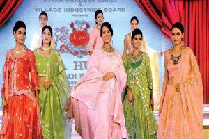Bridal wear in Khadi proves it's no longer a dull, drab fabric