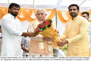 Mapping for new stadiums to be done as per the needs of sportspersons: Khattar