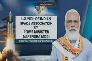 PM Modi launches Indian Space Association