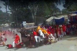 Four killed as speeding car ploughs into religious procession in Chhattisgarh
