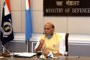 Steps taken to strengthen women's role in security setup, armed forces: Rajnath