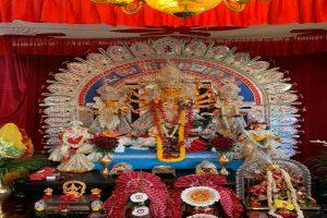 Goddess Aradhana on Maha Saptami